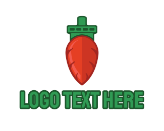 Boating - Carrot Ship logo design