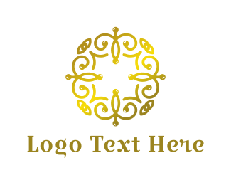 Fashion Designer - Golden Spa logo design