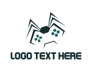 Spider - Spider Game  logo design