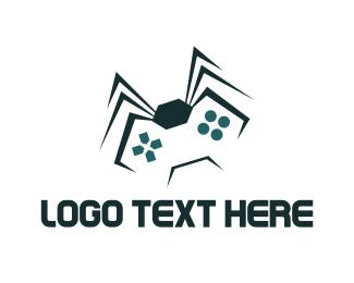 Video Game - Spider Game  logo design