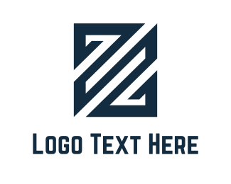 Legal - Stripes Letter Z logo design