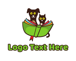 Elementary School - Pet School logo design