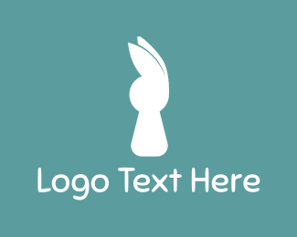 Hare - White Rabbit logo design