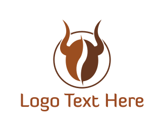 Seed - Bull Coffee logo design
