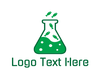 Lab - Lab Aquarium logo design