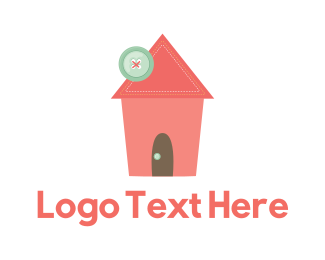 Handmade - Sewing House logo design