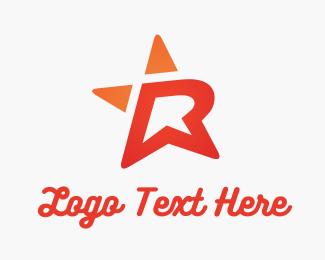 Retail - R Star logo design