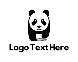 Cute - Cute Panda logo design