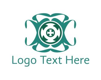 Twist - Spin Circle  logo design
