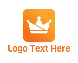 Mobile App - Royalty App logo design