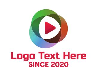 Multimedia - Colorful Multimedia logo design