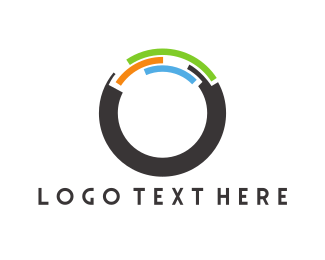Abstract - Modern Round Letter O logo design