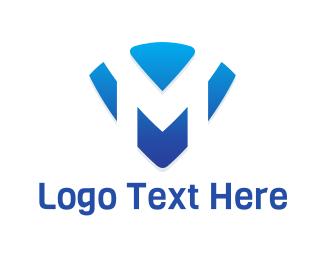 """Letter M Emblem"" by ansgrav"