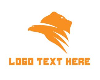 Grizzly - Bear Hawk Gaming logo design