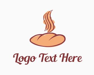 Roll - Delicious Bakery logo design