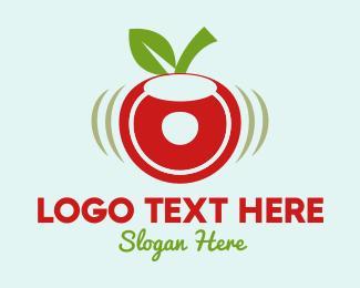 Doughnut - Cherry Donut logo design