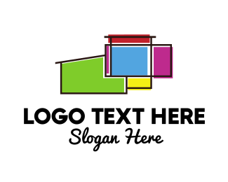 Colorful Architecture Logo