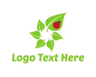 Ladybug - Green Life logo design