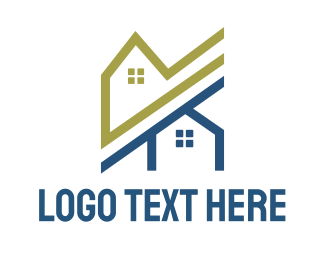 Neighborhood - Neighbor Houses logo design