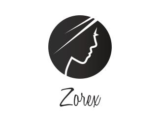Man Profile Woman Profile logo design