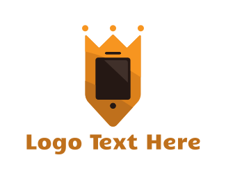 Phone Repair - King Phone logo design