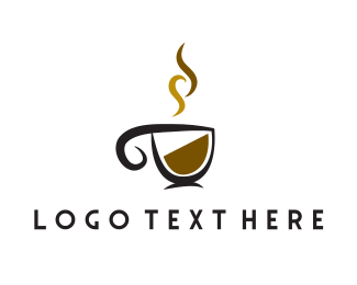 Hot Drink - Coffee Cup logo design