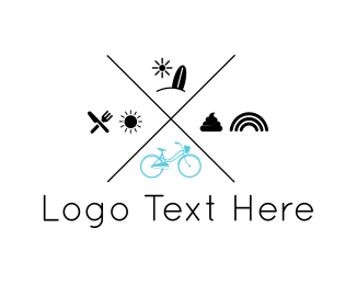 Bicycle - Bike Tour logo design