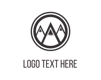 Hill - Mountains & Peaks logo design