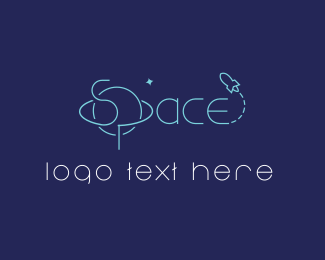Exploration - Space logo design