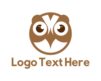 Owl - Baby Owl logo design