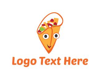 Taco - Happy Gyro logo design