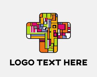 Faith - Colorful Church logo design