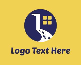 Number 1 - Room & Steps logo design