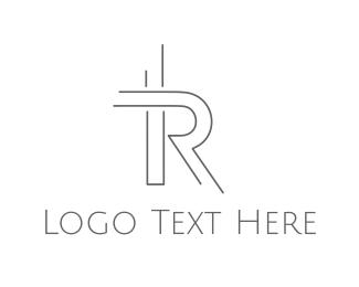 Clothing Brand - Minimalist R logo design