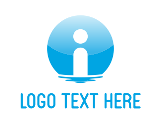 Learn - Blue Information logo design