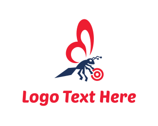 Insect - Insect Target logo design
