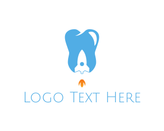 Rocket - Dental Rocket logo design