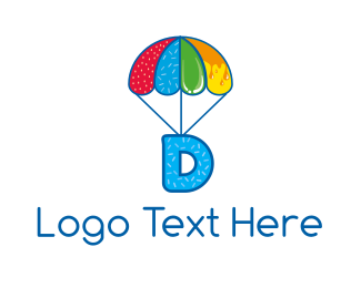 Candy - Sweet Letter D logo design