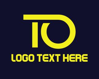 Yellow - Yellow T & O logo design