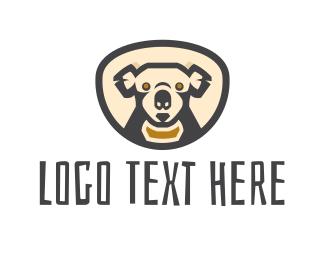 Koala - Koala Head logo design