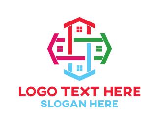 Realtor - House Cross logo design