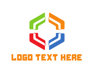 Hexagonal - Colorful Hexagon logo design