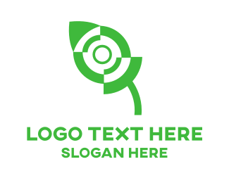 Cursor - Green Mouse logo design