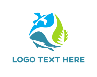 Recycling - Environment Cycle logo design