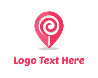 Lollipop - Sweet Point logo design
