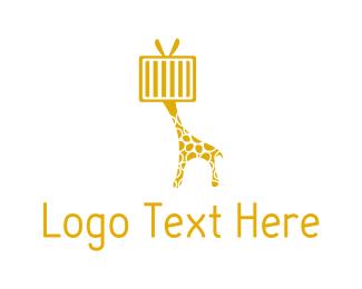 Channel - Giraffe Television logo design