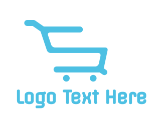 Discount - Shopping Cart S logo design