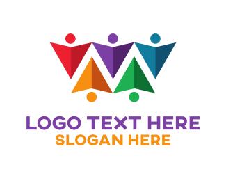 Kite - Colorful Kites logo design