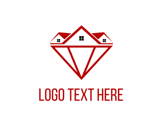 Invest - Diamond Homes logo design