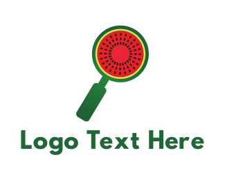 Watermelon - Melon Search logo design